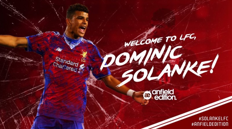 Liverpool secure Solanke