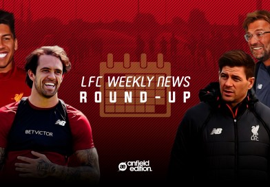 Liverpool's weekly roundup