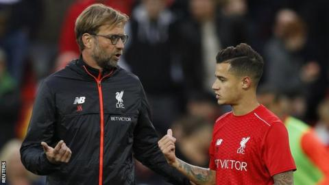 Rumours have hinted in a breakdown in relationship between Coutinho and manager Jurgen Klopp.