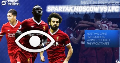 Spartak Moscow vs Liverpool: Match Preview