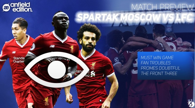 Spartak Moscow Match Preview